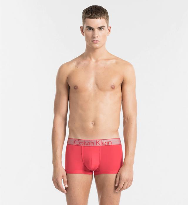 Boxerky NB1295A-8YB červená - Calvin Klein - XL - červená