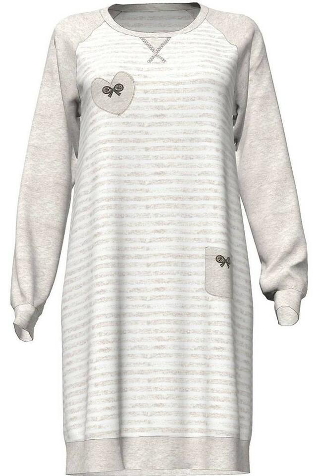 Dámská noční košile 4744 - Vamp - L - béžová