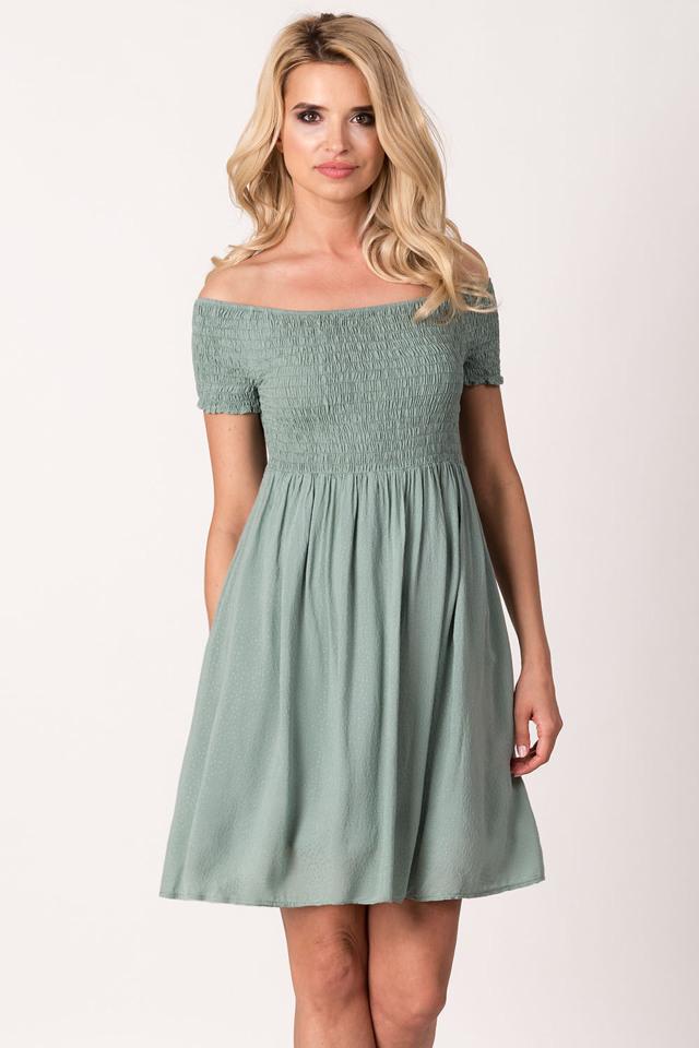 Dámské letní šaty Avaro SU-1406 - UNI - khaki b9605742c9