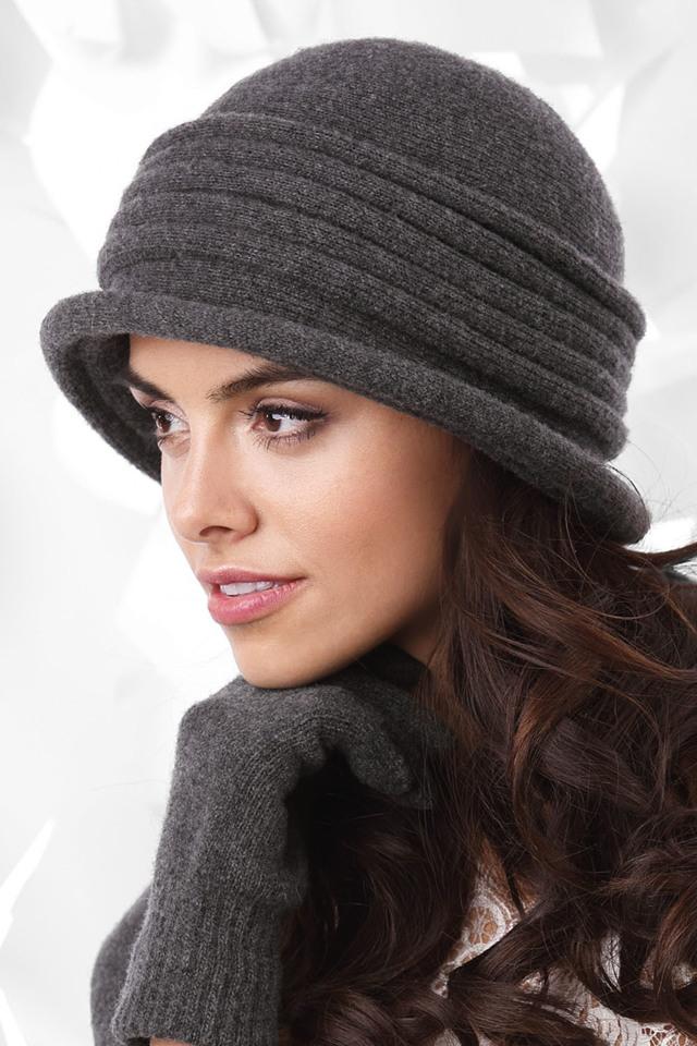 7bf84a71878 Dámský klobouk Kamea Salerno - UNI - šedá