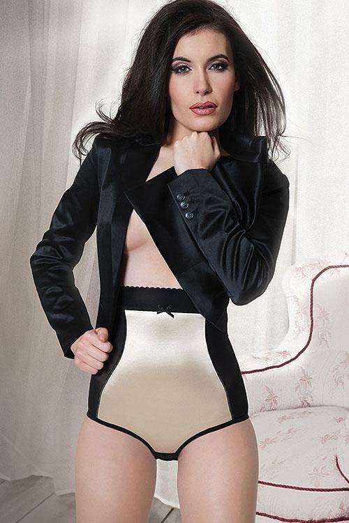 Kalhotky Mitex Elegant - S - černá