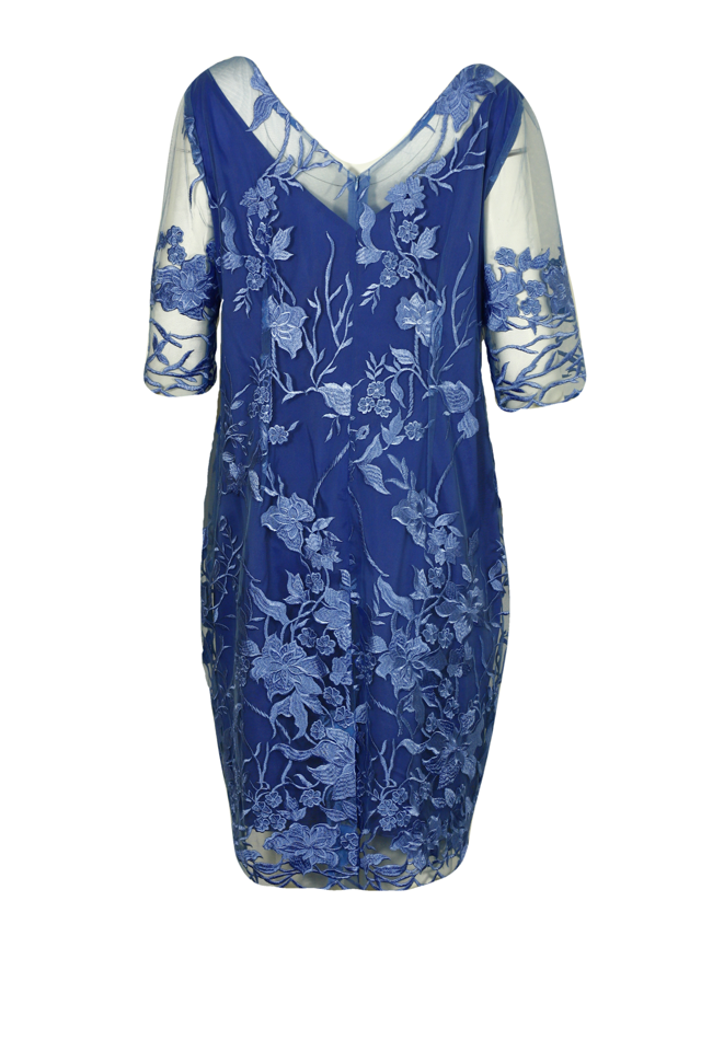 Dámské společenské krajkované šaty - 0190S18 Presto