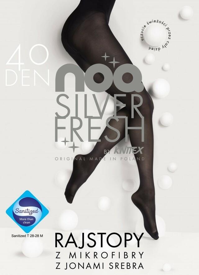 Punčocháče Knittex Noa Silver Fresh 40 den