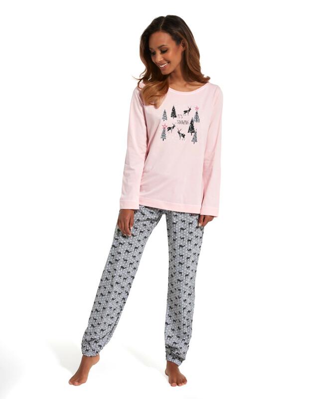 Dámské pyžamo Cornette 627/132 It's Snowing dl/r