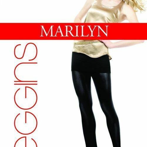Dámské legíny 247 Long - Marilyn - 1-2 - čokoládová