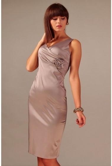 Večerní šaty model 49614 - Vera Fashion - 36 - zlatá