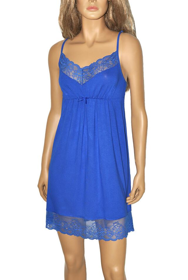 Noční košile De Lafense 348 Estelle - L - černá