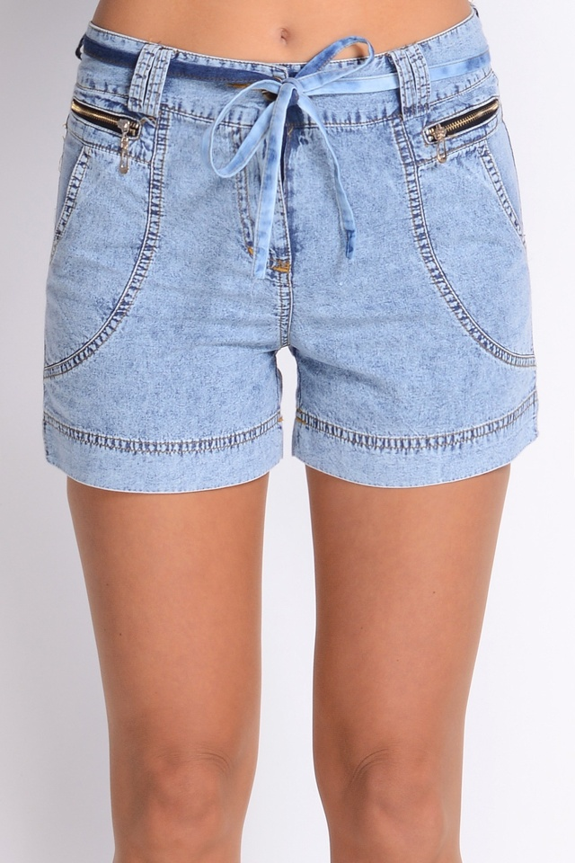 Dámské šortky Avaro SD-213 - S - jeansová