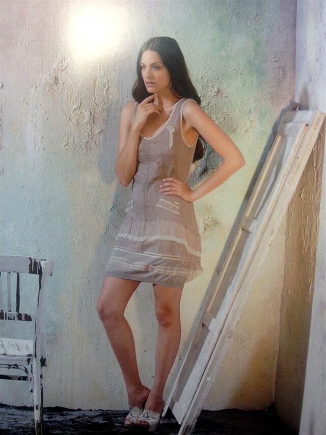 Šaty MSD53 - Morgana - M - hnědá