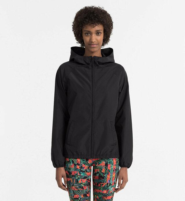 Dámská bunda KW0KW00368-001 černá - Calvin Klein - M - černá