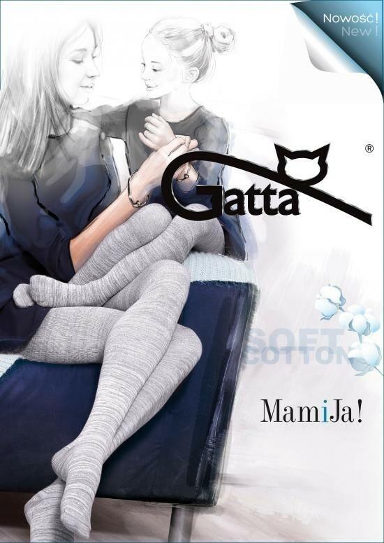 Punčochové kalhoty MamiJa! - Gatta - 4-L - šedá