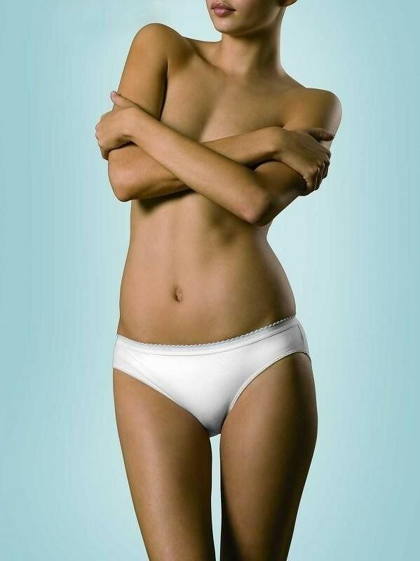 Kalhotky Esotiq Blue Line mini bikini 18796 - M - černá