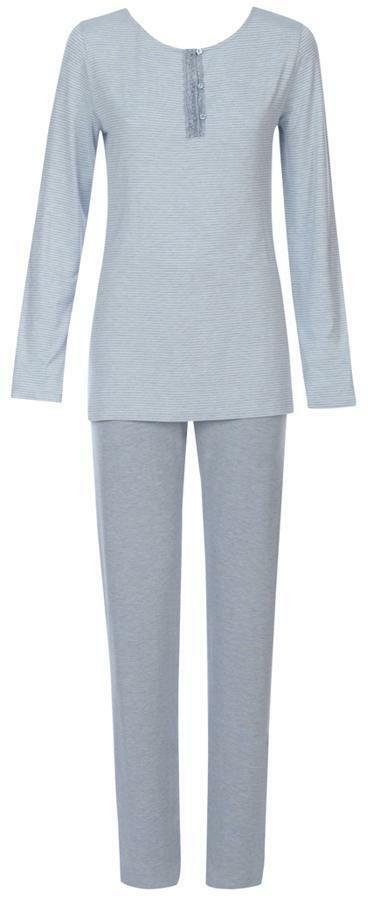 Dámské pyžamo Charming Shades PK 02 - Triumph - 42 - namodrale šedá (00PP)