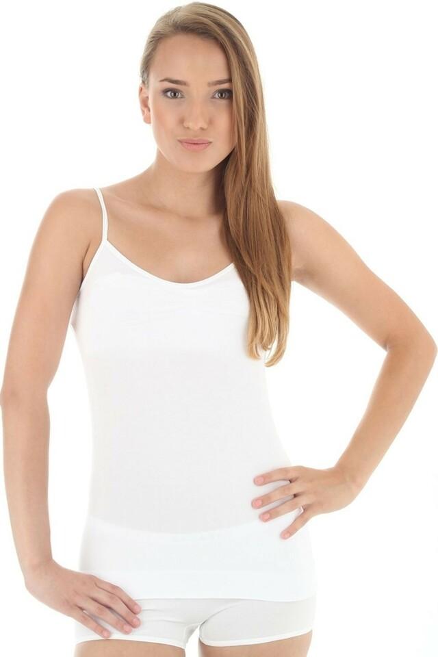 Dámská košilka CM 00210 Camisole white - M - bílá