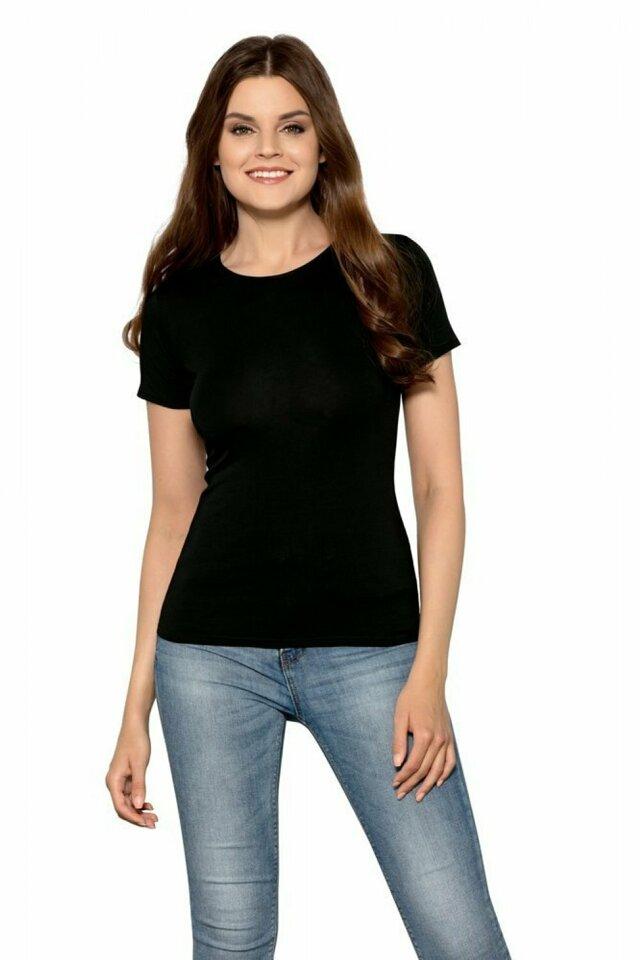 Dámské tričko Claudia black - BABELL - M - černá