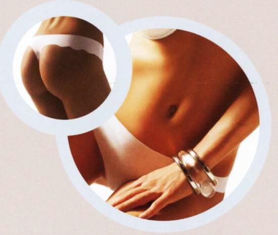Dámské kalhotky¨laserové A00936 Ninfea - Lilly - XL - tělová