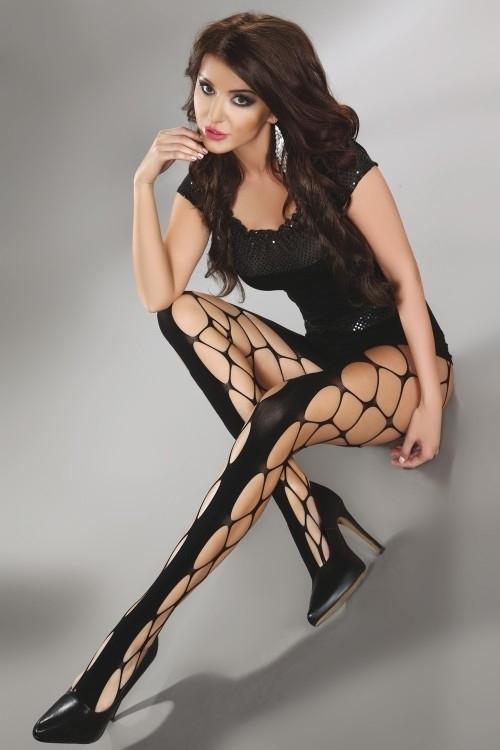 Punčochové kalhoty Jeanne - Livia Corsetti - S/L - černá