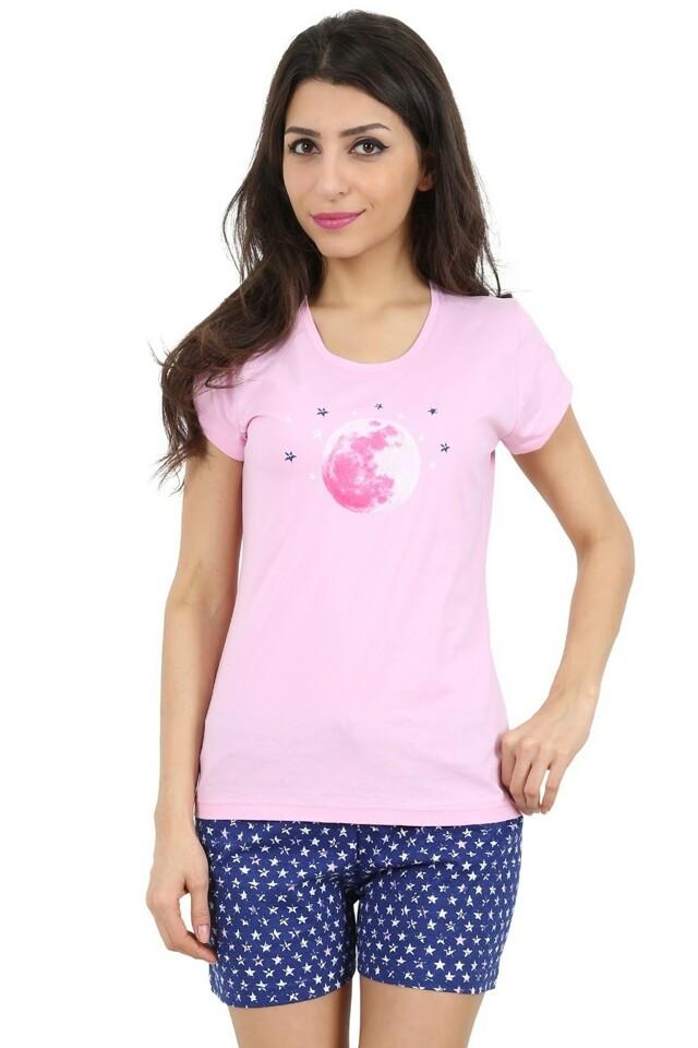 Bavlněné dámské pyžamo Moonstar