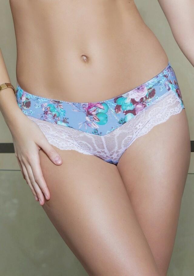 Dámské kalhotky Parfait 4105 Delphine - XL - Světle modrá