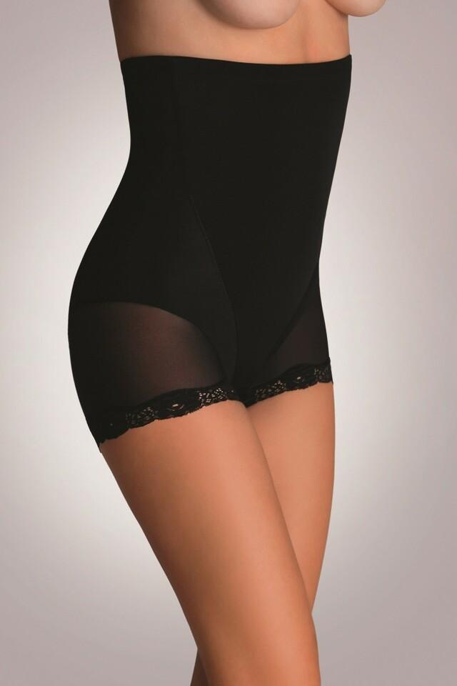 Stahovací kalhotky Violetta black - XL - černá