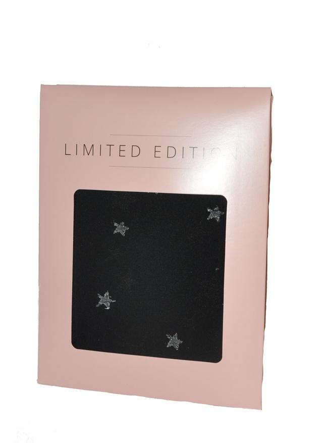 Dámské punčochové kalhoty Fiore 812083 Hvězdy - 4-L - černá