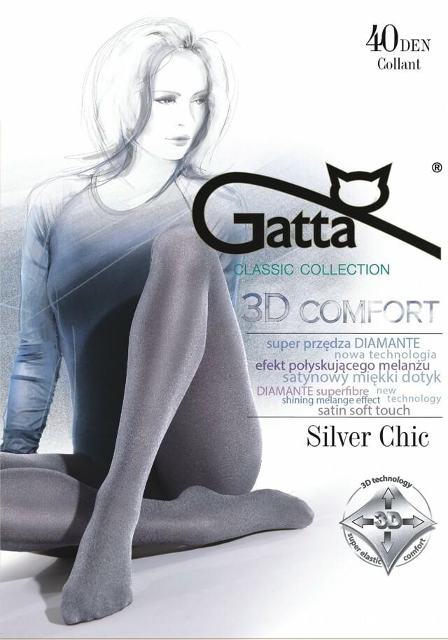 Punčocháče Gatta Silver Chic 40 den