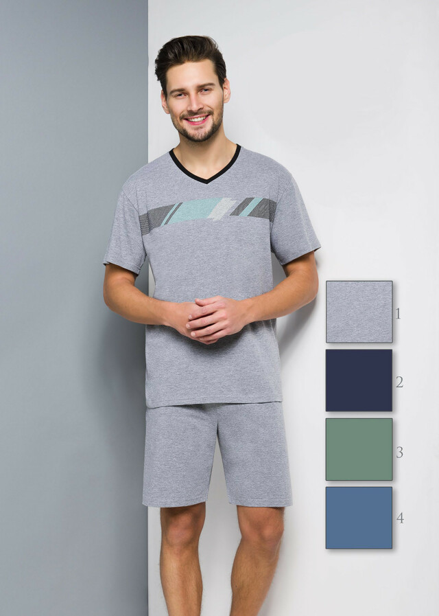 Pánské pyžamo Regina 515 kr/r 2XL