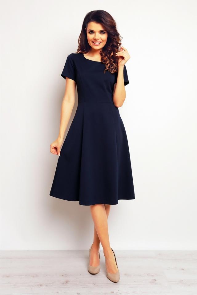 Denní šaty model 61213 - Infinite You - 40/L - tm.modrá