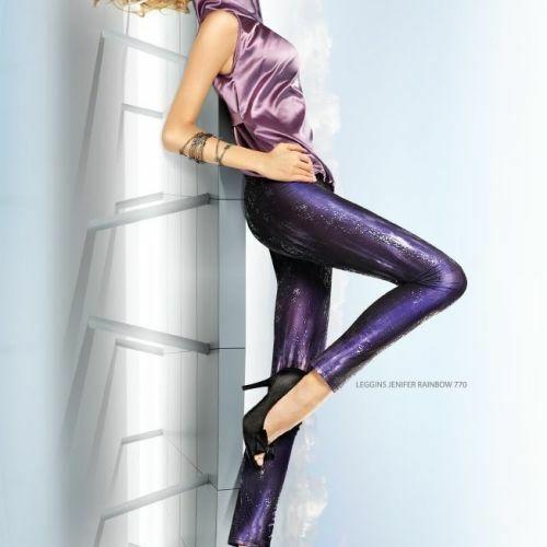 Dámské legíny Jenifer Rainbow 770 - Marilyn - S/M - fialová