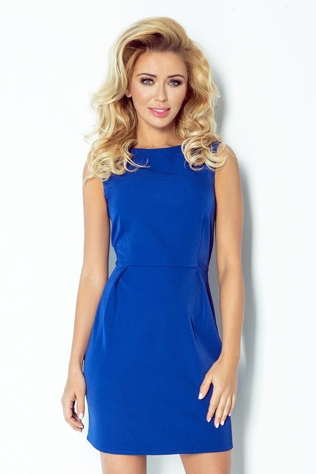 4f603e760c8 Dámské šaty 103-1 - XL - královský modrá