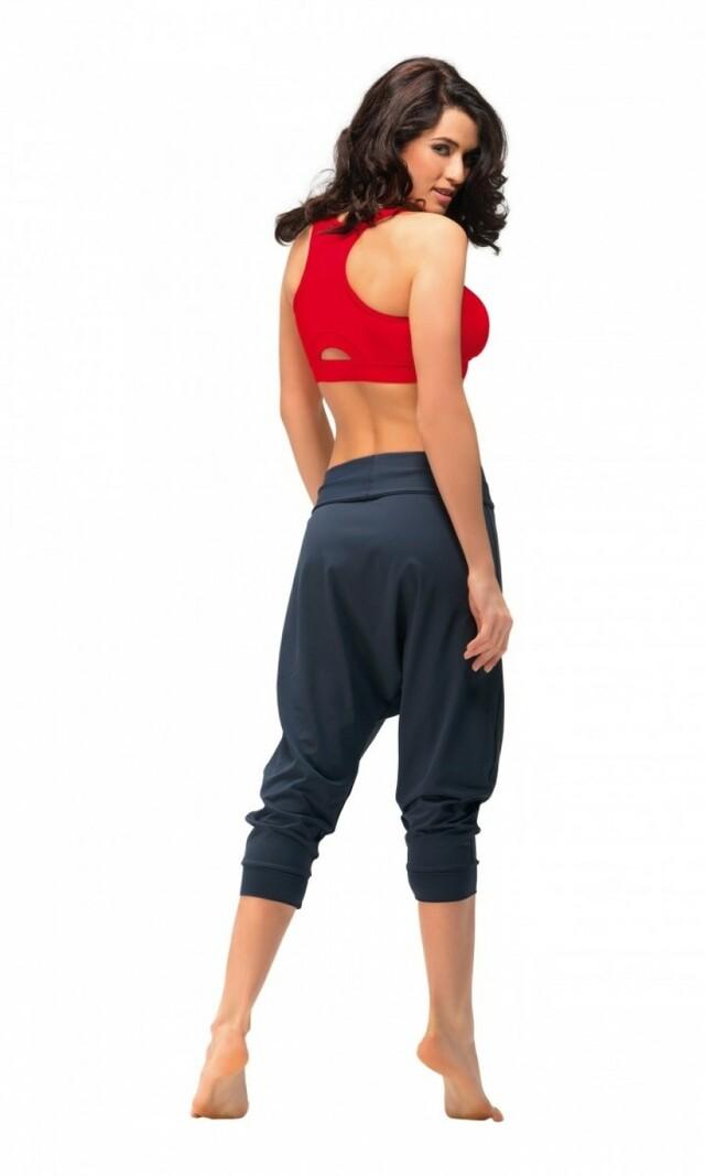 Dámské fitness kalhoty Creola II grey - S - šedá