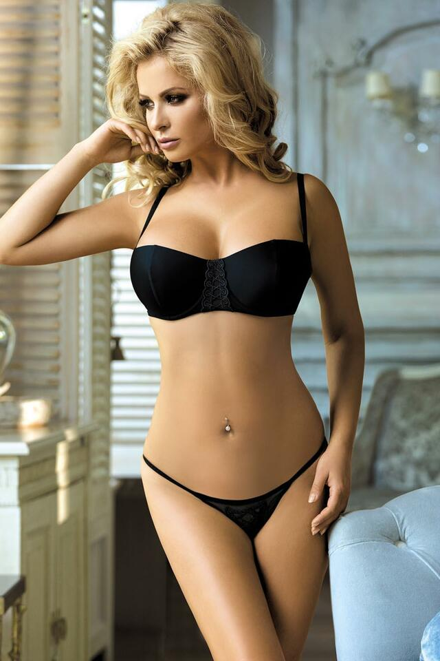Sexy set Excellent Beauty L-114 - L/XL - černá