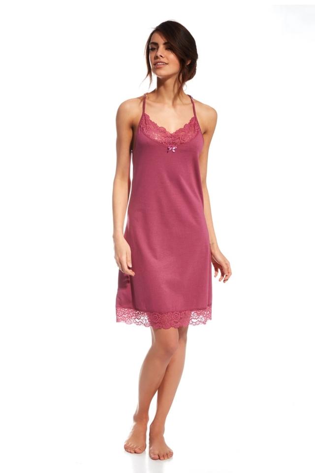 Noční košile 056/118 Roxanne - M - růžová