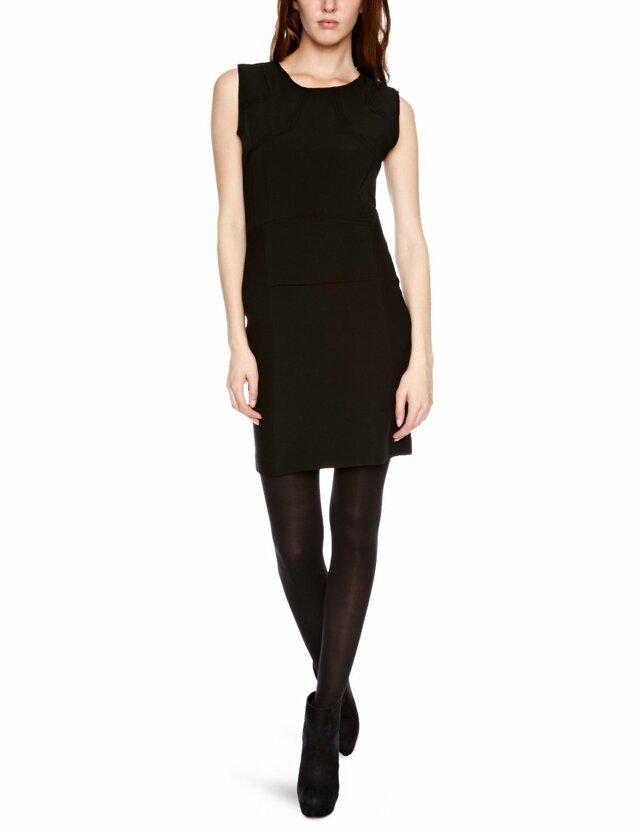 Dámské šaty 23q675 - Rich Royal - L - černá