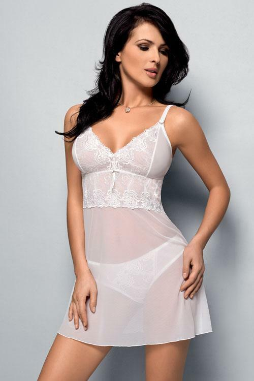 Košilka Gorsenia K092 Donna - XL - bílá