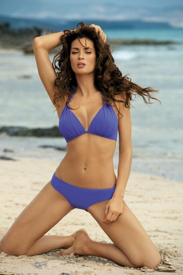 Dvojdílné plavky Lauren M-325 - Marko - S - tmavě modrá
