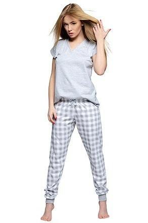 Dámské bavlněné pyžamo Freya - XL
