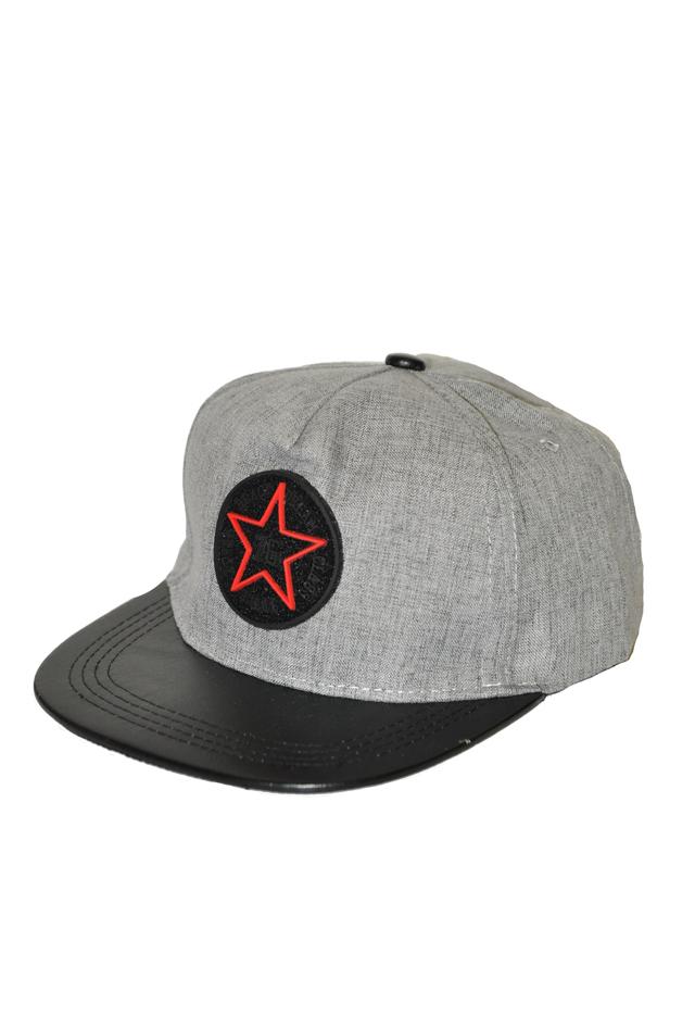 Čepice s kšiltem Bruno Rossi CZ-15 - univerzální - sv.šedá