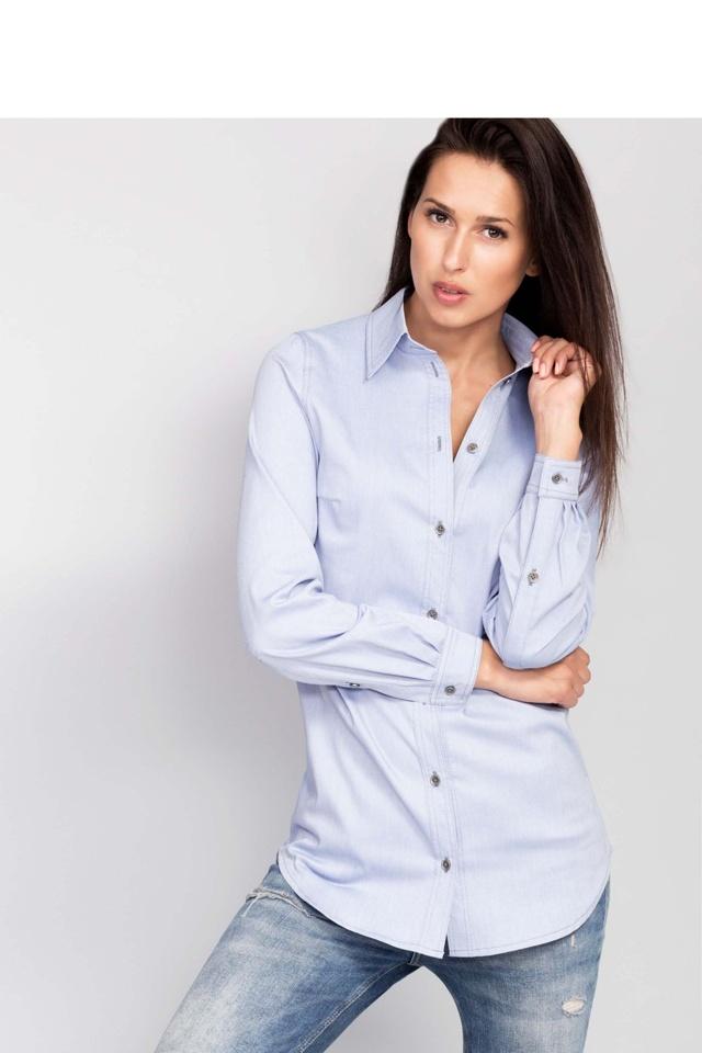 Košile s dlouhým rukávem Rossetti 68430 - Mira Mod