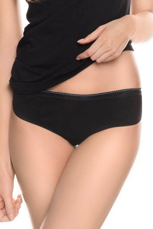 Dámské kalhotky 18796 black - M - černá