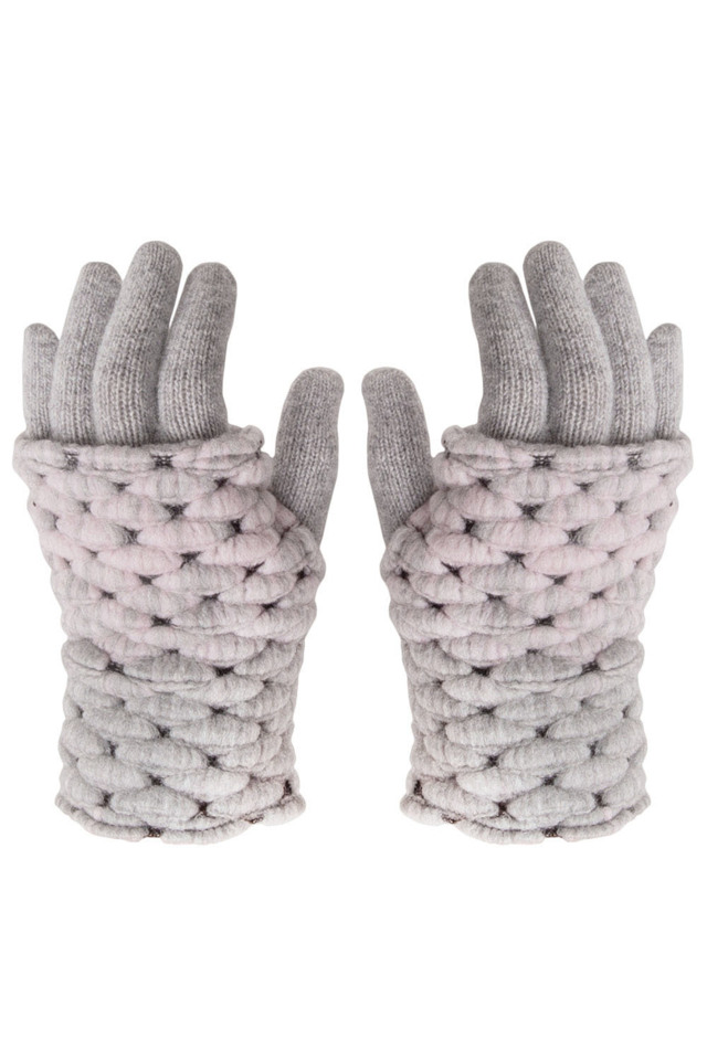 ed4b54be4a9 Dámské rukavice Kamea Ombre - UNI - šedá