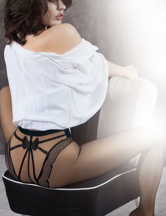 Punčochové kalhoty Astrea 01 - Gatta Ars Amandi - 2-S - černá