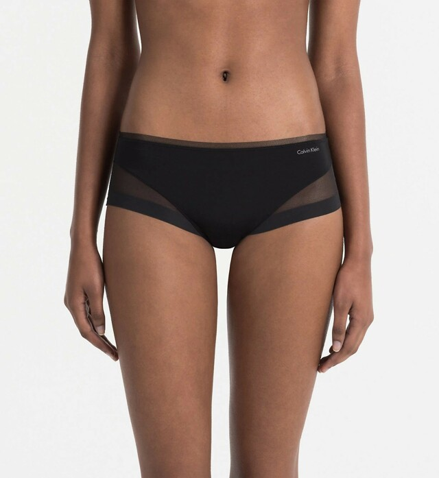 Kalhotky QF1709E černá - Calvin Klein - XS - černá