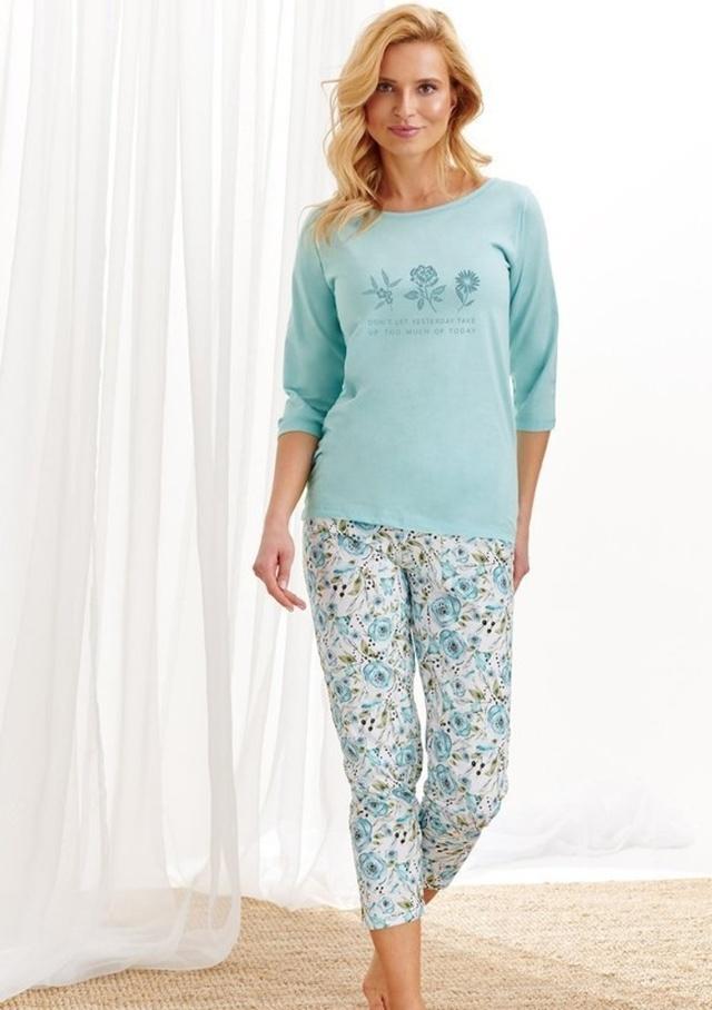 Dámské pyžamo Taro 2234 - M - Sv. modrá