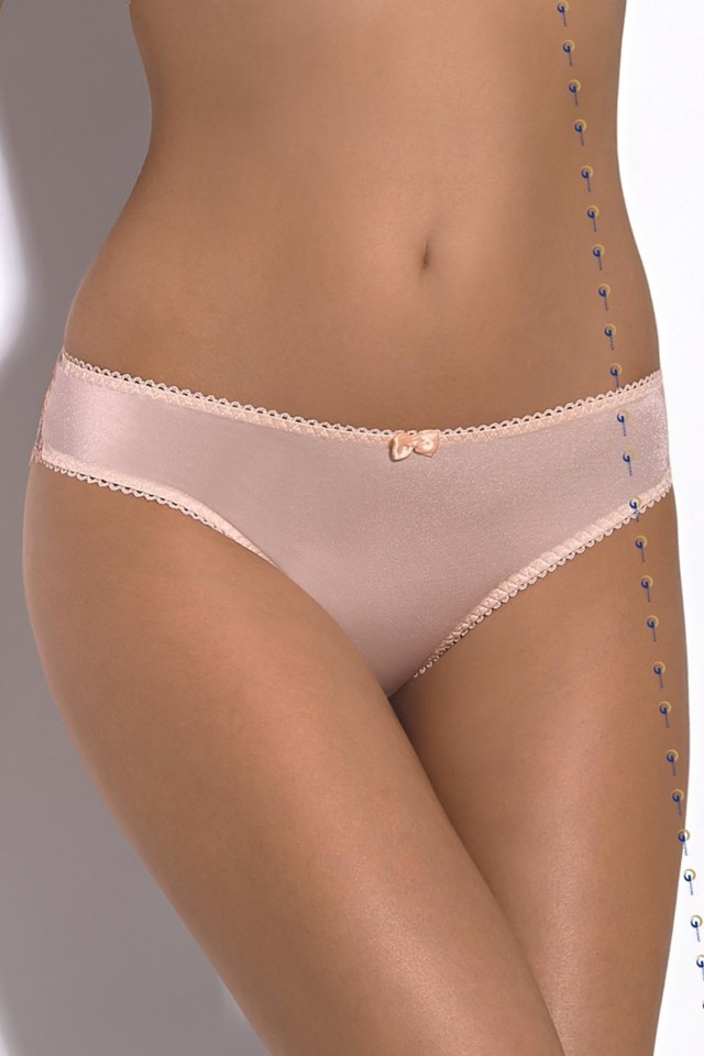 Dámské kalhotky Gorsenia K341 Yasminne - S - jasmínová