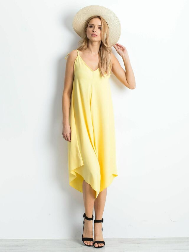 Žlutý dámský overal - S