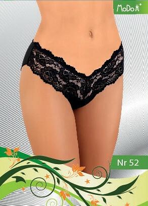 Kalhotky Modo nr 52 - M - černá