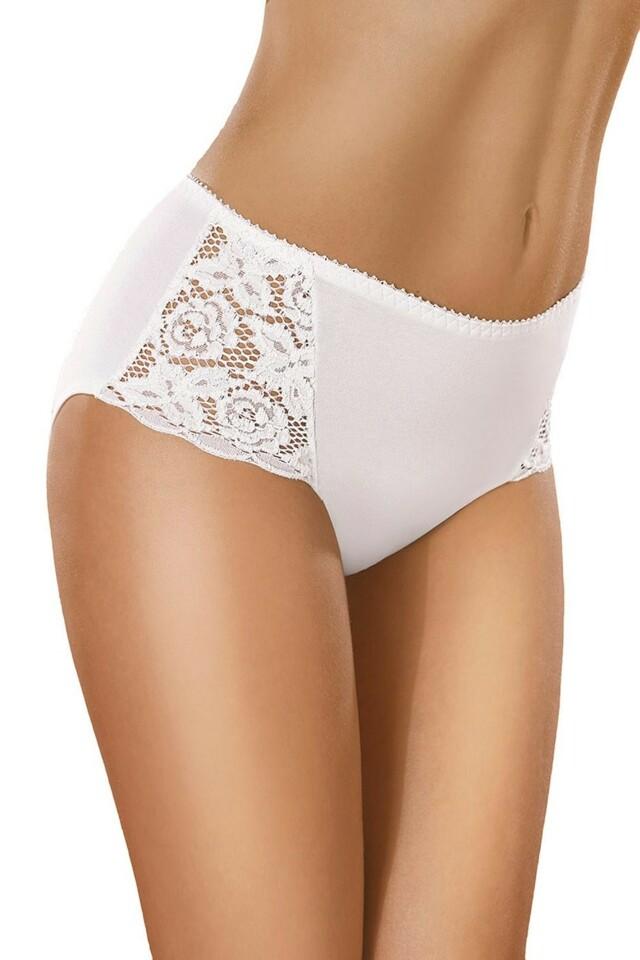 Dámské kalhotky 029 white - XXL - bílá
