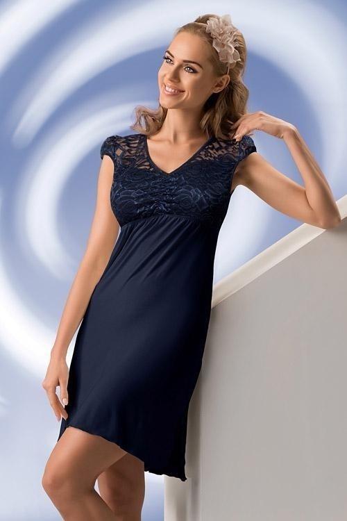 Noční košilka Sabina - Donna - 4-XL - krémová