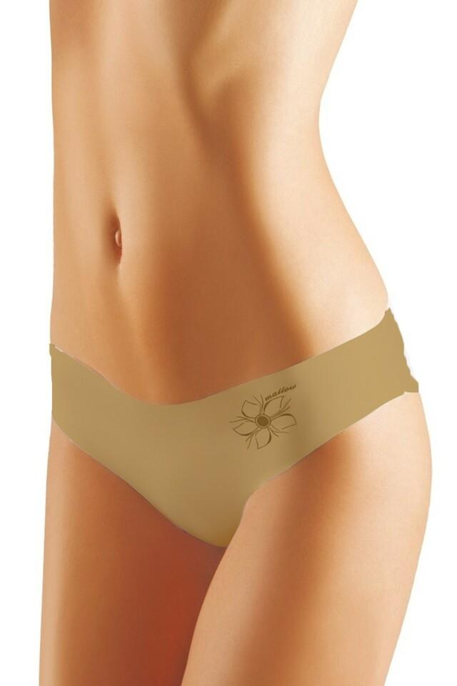 Dámské kalhotky Mallow beige - M - béžová